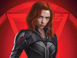 Black Widow Marvel Scarlett Johansson wallpaper