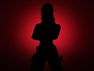Black Widow Monikar Fortnite wallpaper