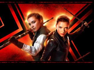 Black Widow Movie IMAX Poster wallpaper