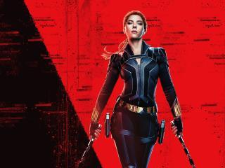 Black Widow New 4K Poster wallpaper