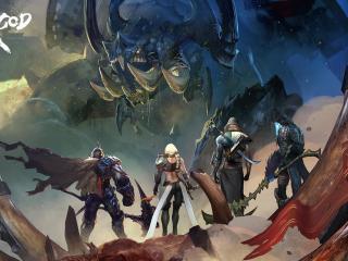 Blade of God PC wallpaper