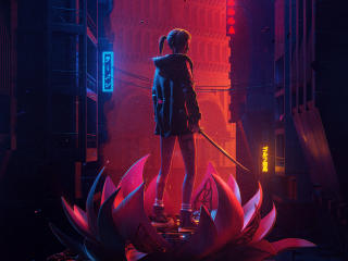 Blade Runner Black Lotus 2021 wallpaper