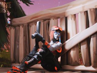 Blaze Fortnite iPhone New HD wallpaper