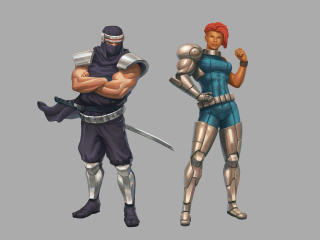 HD Wallpaper | Background Image Blazing Chrome Hidden Characters