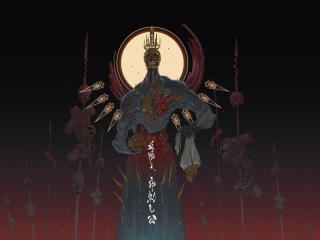 Blood Sun The Impaler wallpaper