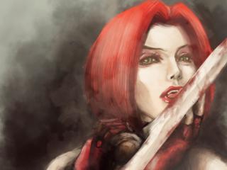 Bloodrayne Girl Blood wallpaper