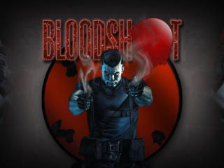 Bloodshot Comic wallpaper