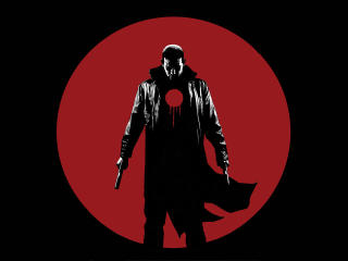 Bloodshot Minimalist Art wallpaper