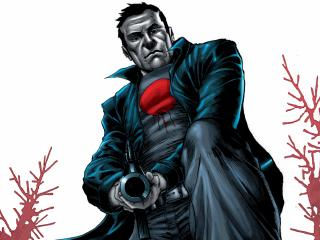 Bloodshot Superhero wallpaper