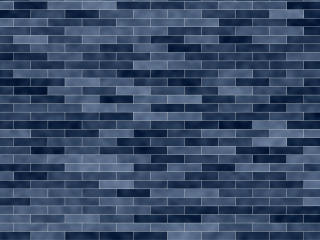 Blue Brick Texture wallpaper