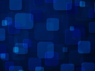 Blue Digital Art Squares wallpaper