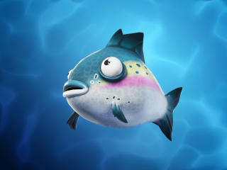 Blue Flopper Fortnite Fish wallpaper