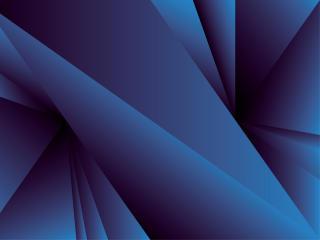 Blue Geometry Shapes 2021 Art wallpaper