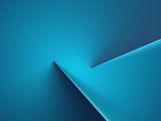 Blue Glowing 4K Line wallpaper