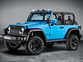 Blue Jeep Wrangler Rubicon wallpaper
