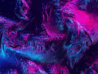 Blue Pink Digital Art wallpaper