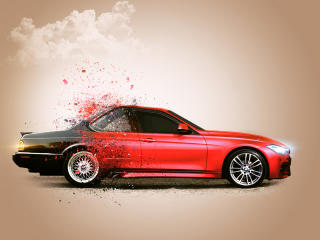 BMW CGI Car wallpaper