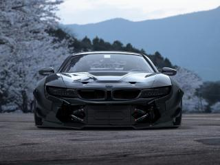 bmw, i8, front view wallpaper