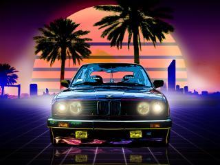 BMW Retro Style wallpaper