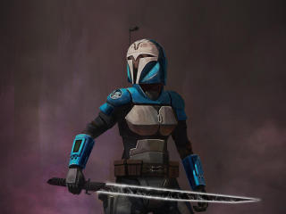Bo-Katan Kryze 2020 Art wallpaper