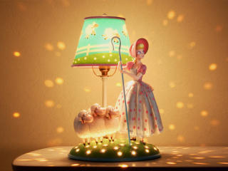 Bo Peep Lamp Life wallpaper