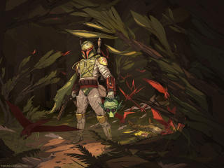 Boba Fett Art wallpaper