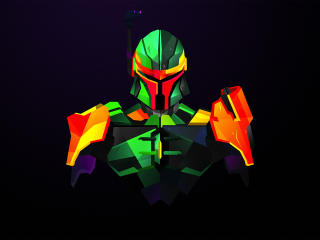 Boba Fett Star Wars Art wallpaper