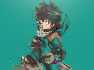 Boku no Hero Academia Midoriya Izuku Art wallpaper