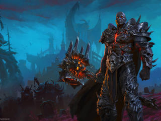 Bolvar Fordragon Wow Shadowlands wallpaper