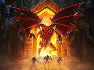 Book Of Demons 4K wallpaper