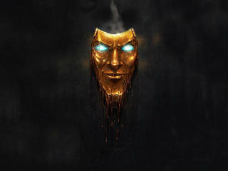 Borderlands 3 Gold Mask wallpaper
