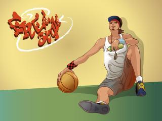 boy, basketball, basketball player wallpaper