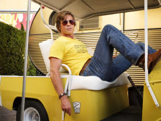 Brad Pitt in Once Upon a Time in Hollywood Movie image