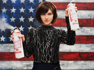 Braindead Mary Elizabeth Winstead  As Laurel Healy wallpaper