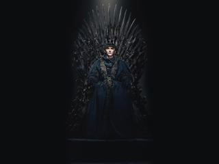 Bran Stark in The Iron Throne wallpaper
