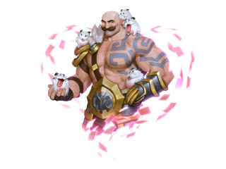 Braum and Poro League Of Legends wallpaper