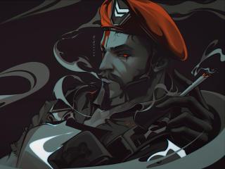 Brimstone Cool FanArt Valorant wallpaper
