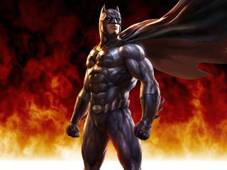 Bruce Wayne Dark Knight 4K Batman Cool Art wallpaper