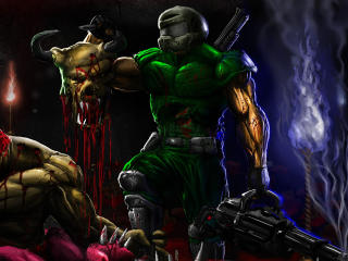 Brutal Doom Doom wallpaper