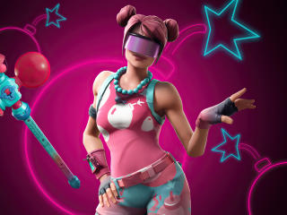 Bubble Bomber Fortnite wallpaper