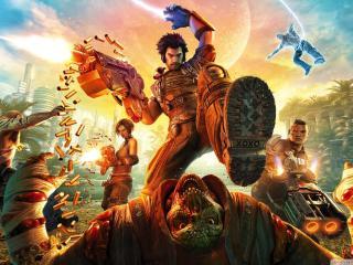 Bulletstorm Game Poster wallpaper