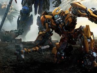 Bumblebbe Transformers The Last Knight wallpaper