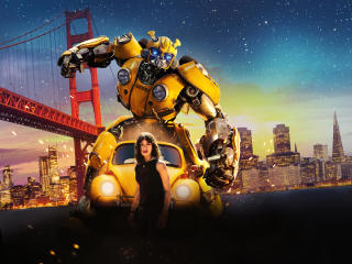 Bumblebee Movie Official Poster wallpaper