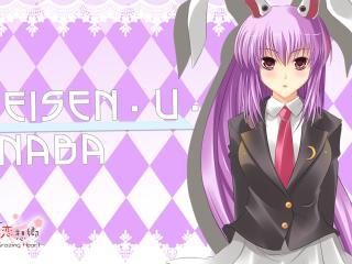 bunnygirl, reisen udongein inaba, girl wallpaper