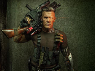 Cable Deadpool 2 wallpaper