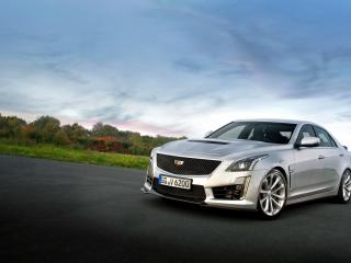 cadillac, cts, side view wallpaper