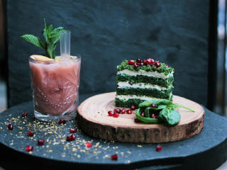 HD Wallpaper | Background Image cake, dessert, cream