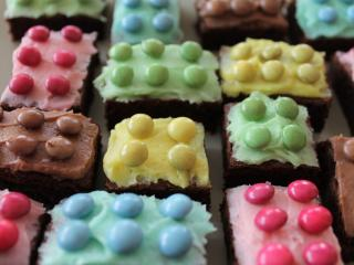 HD Wallpaper | Background Image cake, lego, pastries