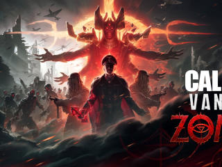 Call of Duty HD Vanguard Zombies wallpaper