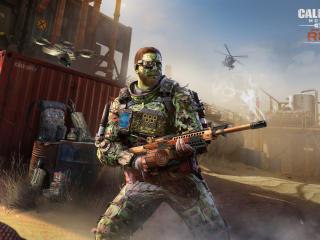 Call of Duty Mobile Season 6 Rust wallpaper